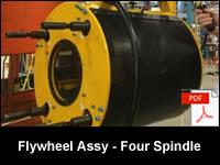 Flywheel Assembly - Stanley Four Spindle DC Nutrunner