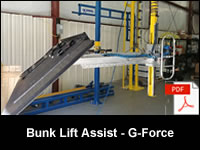 Bunk Lift Assist - Zero Gravity G-Force