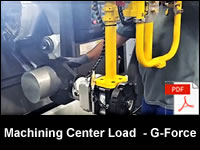 Machining Center Load Lift Assist - G-Force Easy Arm