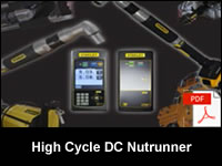 High Cycle Stanley DC Nutrunner