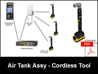 Air Tank Assembly - Stanley Cordless Tool